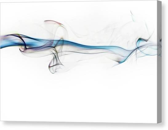 Flash Canvas Print - Color And Smoke V by Scott Norris