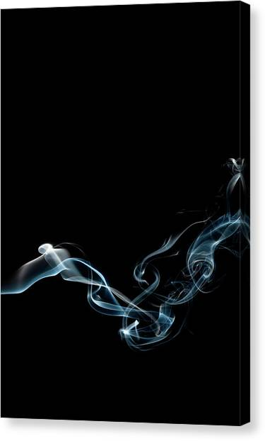 Flash Canvas Print - Color And Smoke Vi by Scott Norris