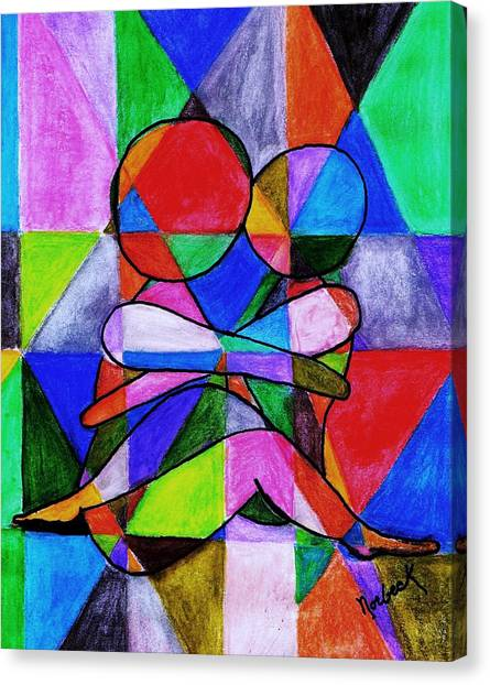Color Blind Canvas Print by Thomas J Norbeck