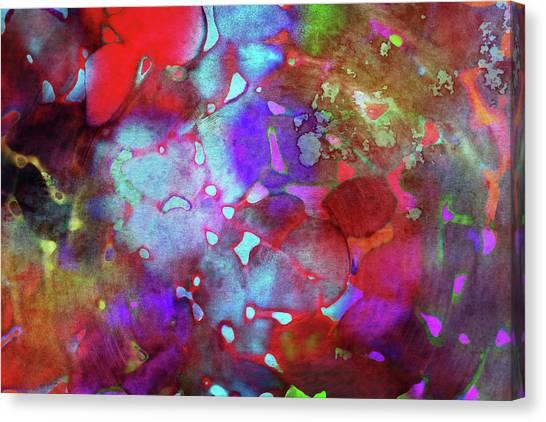 Susann Serfezi Canvas Print - Color Burst by AugenWerk Susann Serfezi