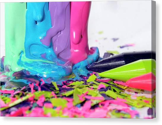 Color Madness Canvas Print