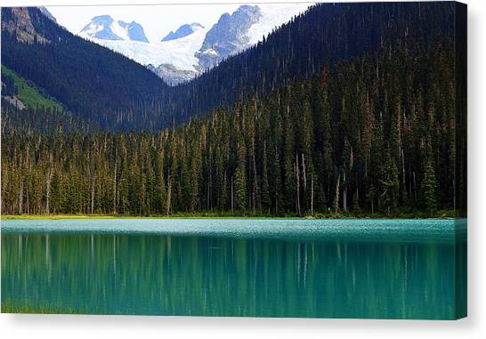 Lower Joffre Lake Canvas Print