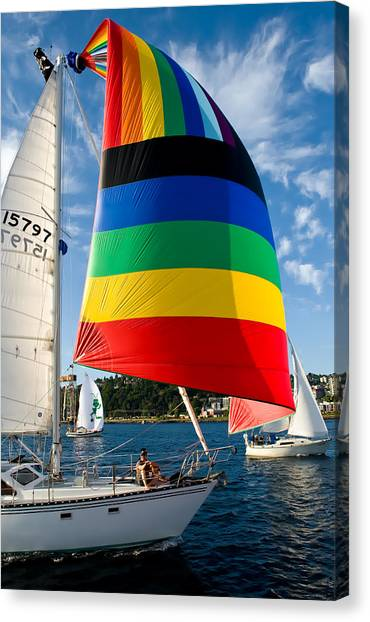 Color Of Wind Canvas Print by Tom Dowd