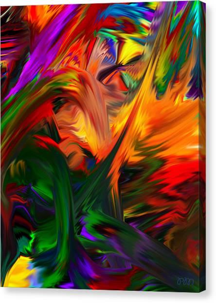 Color Reality B4 Canvas Print
