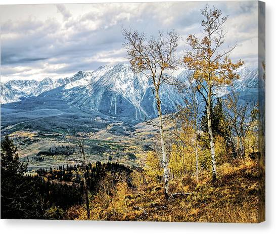 Colorado Autumn Canvas Print