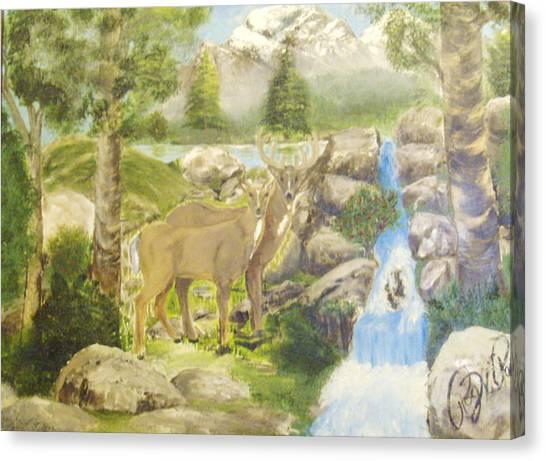 Colorado Couple Canvas Print by Roger Rambo