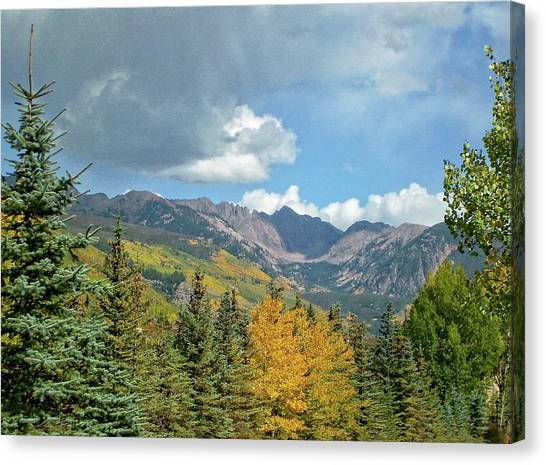 Rocky Mountains Canvas Print - Colorado Fall by Jeremy Tamsen