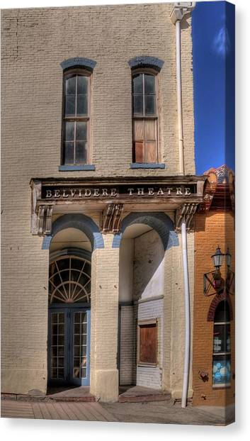 Belvidere Theatre Canvas Print