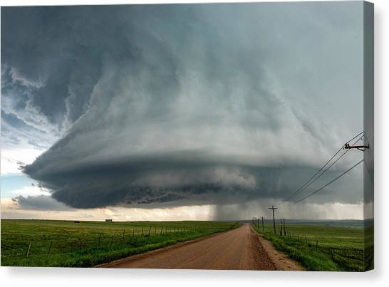 Tornadoes Canvas Print - Colorado Mothership by Shane Linke