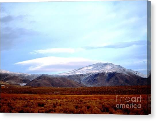 Colorado Mountain Vista Canvas Print