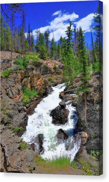 Colorado Rapids Canvas Print - Colorado Rapids 3 by Randy Aveille