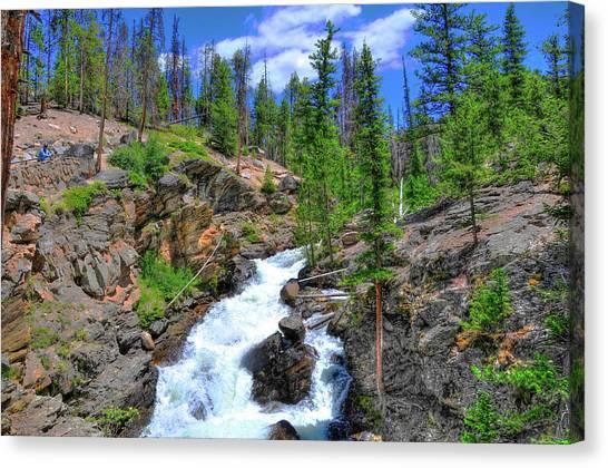 Colorado Rapids Canvas Print - Colorado Rapids 4 by Randy Aveille