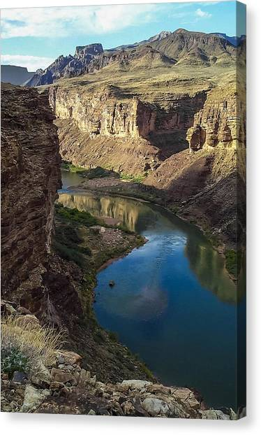 Colorado River Grand Canyon National Park Canvas Print