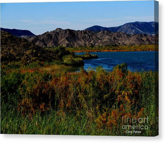 Colorado River Canvas Print by Greg Patzer