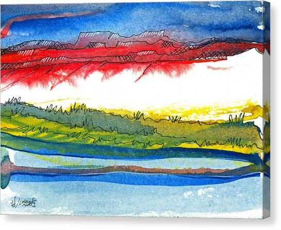 Colorado River I Canvas Print