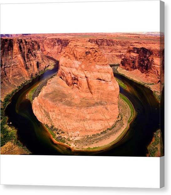 Scotty Canvas Print - Colorado River Wrapping Around by Scotty Brown