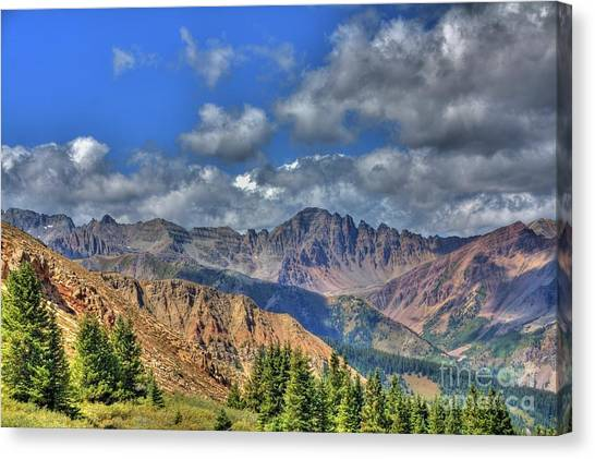 Colorado Rocky Mountains Canvas Print