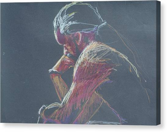 Colored Pencil Sketch Canvas Print
