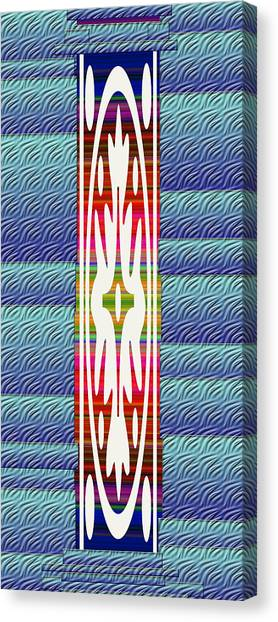 Splashy Art Canvas Print - Colorful Abstract 13 by Aimee L Maher Photography and Art Visit ALMGallerydotcom