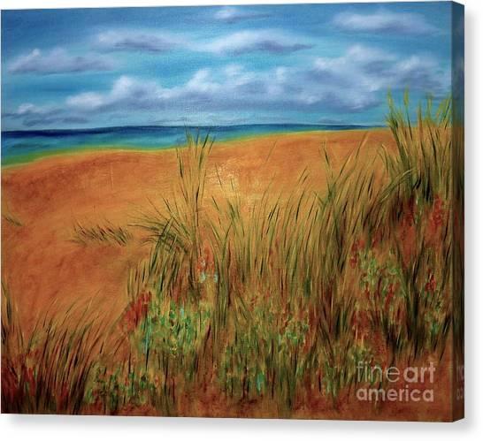Colorful Beach Canvas Print