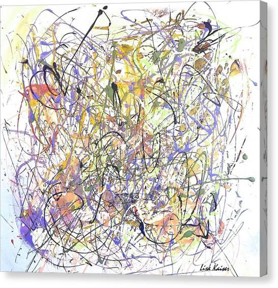 Colorful Blog Canvas Print