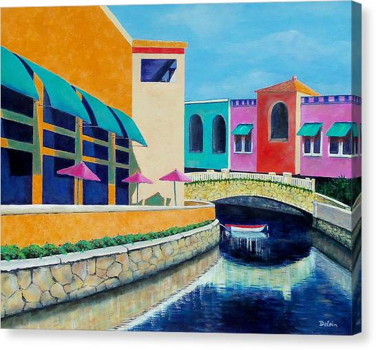 Colorful Cancun Canvas Print