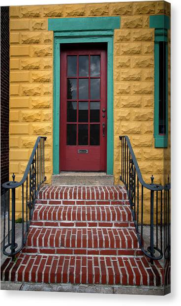 Canvas Print - Colorful Entry by Murray Bloom