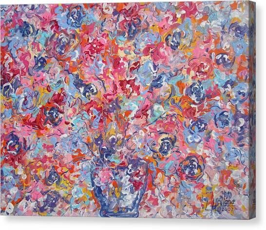 Colorful Floral Bouquet. Canvas Print