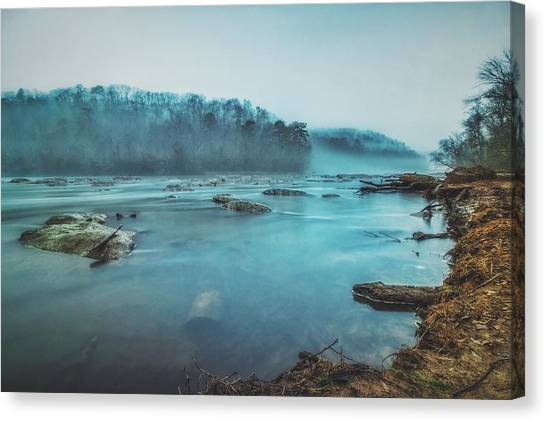 Colorful Fog Canvas Print