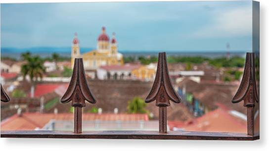 Colorful Granada II Canvas Print by Michael Santos