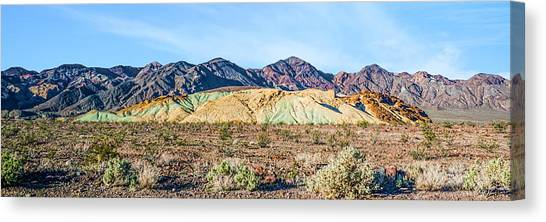 Colorful Hills Canvas Print