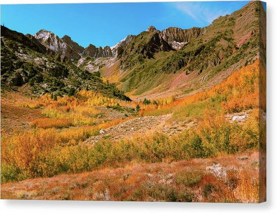 Colorful Mcgee Creek Valley Canvas Print