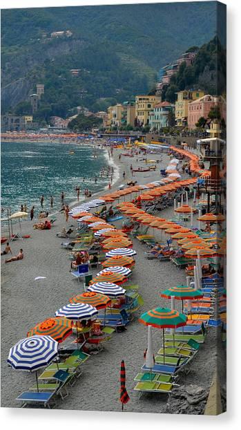 Colorful Monterosso Canvas Print