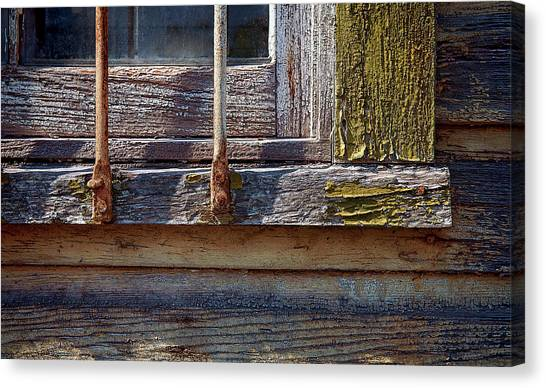 Canvas Print - Colorful Old Window by Murray Bloom