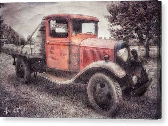 Colorful Past Canvas Print