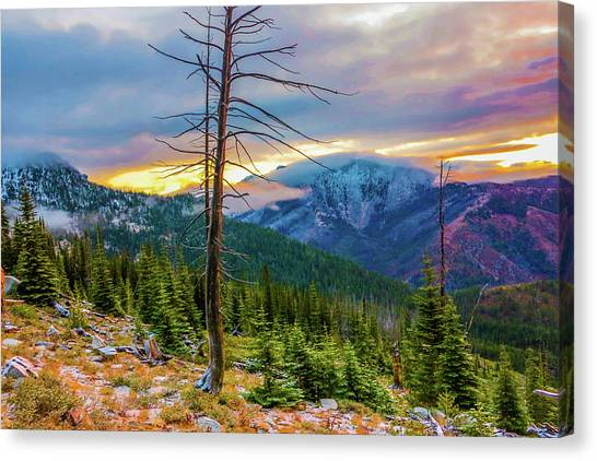 Colorfull Morning Canvas Print