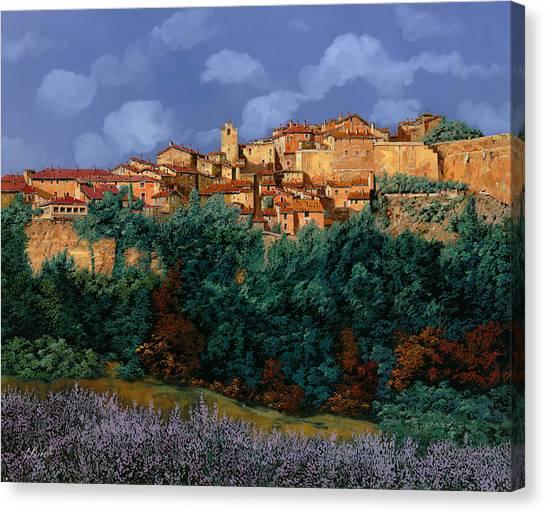 France Canvas Print - colori di Provenza by Guido Borelli