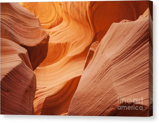 Colors Abound In The Canyon Canvas Print