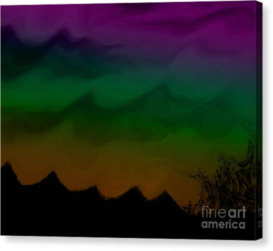 Colors At Dusk2 Canvas Print