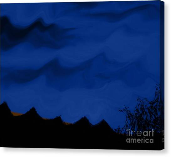 Colors At Dusk3 Canvas Print