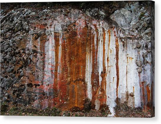 Colors Below A Gold Mine Canvas Print by Sarah King