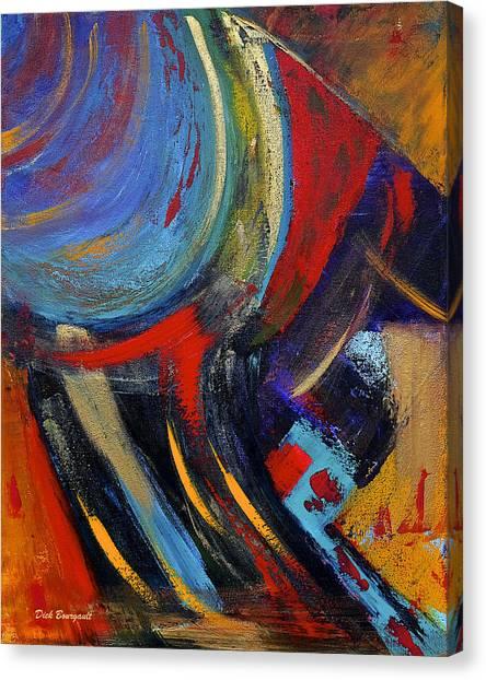 Colors For Emerson Canvas Print