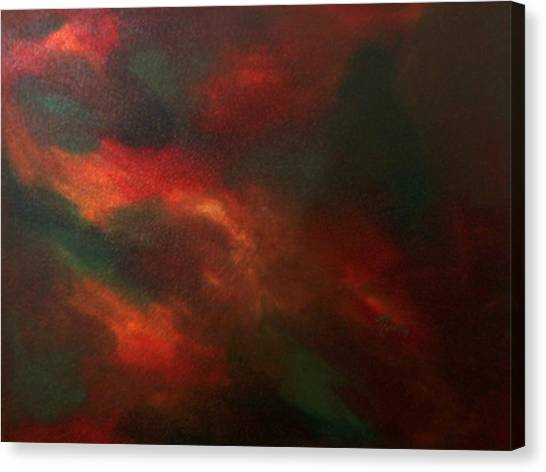 Colors In Mind Canvas Print by Guillermo Mason