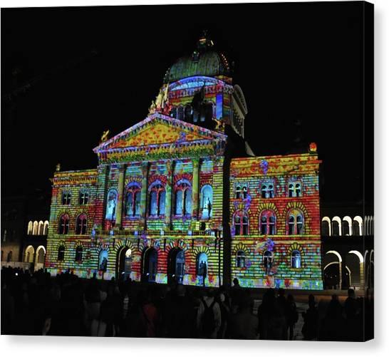 Colors Of Bern Canvas Print