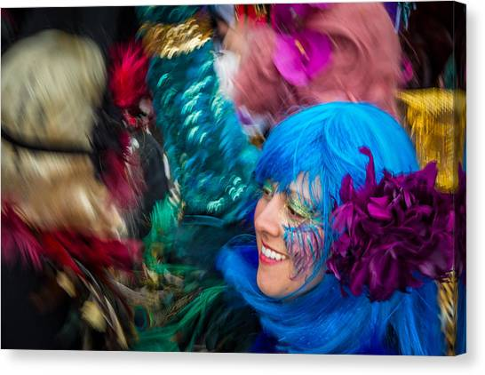 Colors Of Carnival Canvas Print