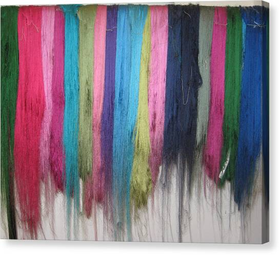 Colors Of Cashmere Canvas Print