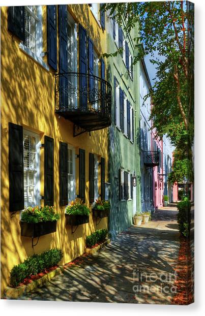 Colors Of Charleston 3 Canvas Print