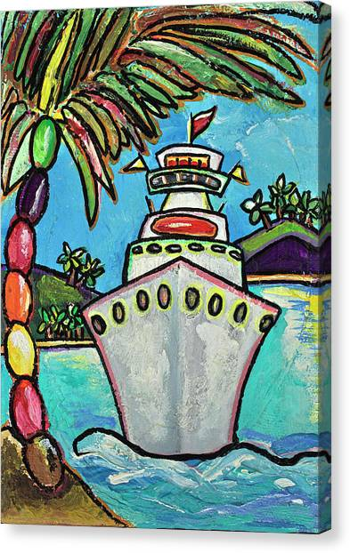 Colors Of Cruising Canvas Print