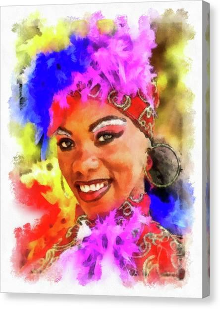 Colors Of Cuba Canvas Print
