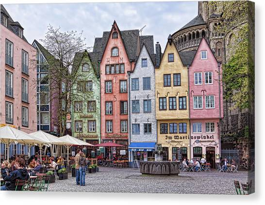 Colors Of Germany Canvas Print